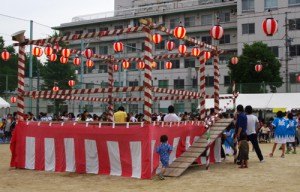 源兵衛公園 夏祭り